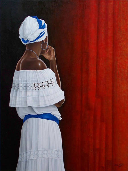 Wall Art - Painting - The Wait by Horacio Cardozo