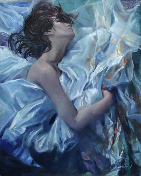 Ignatenko Painting - The Waiting For The Spring by Sergey Ignatenko