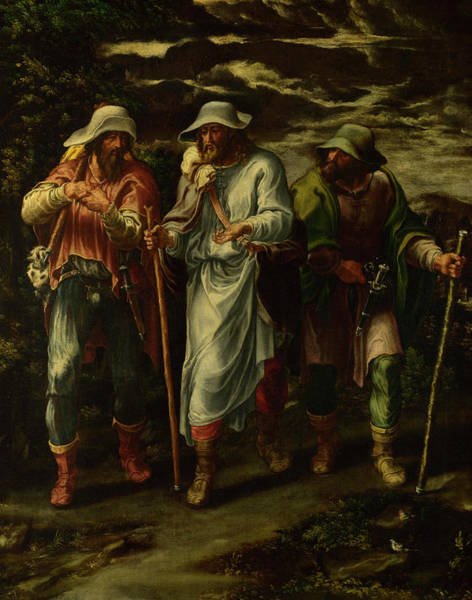 Weapon Painting - The Walk To Emmaus by Lelio Orsi