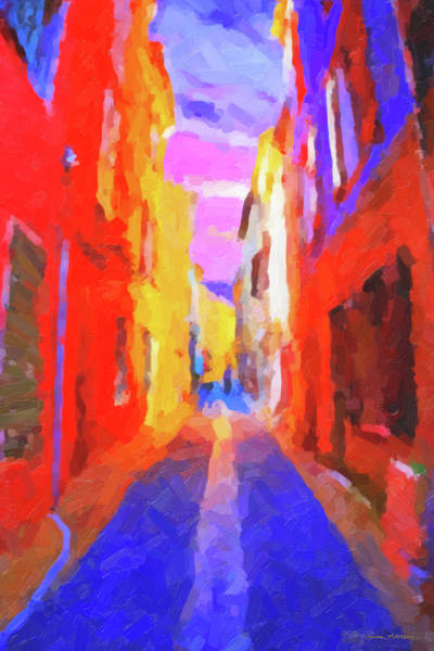 Digital Art - The Walkabouts - Twilight In Francethe Walkabouts - Twilight In France by Serge Averbukh