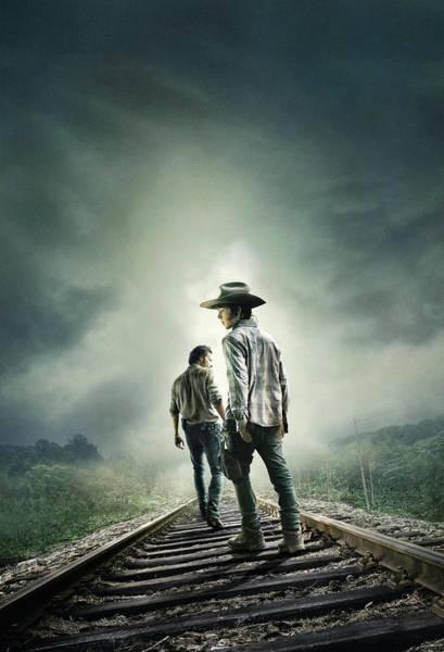 Wall Art - Digital Art - The Walking Dead 2010  by Geek N Rock