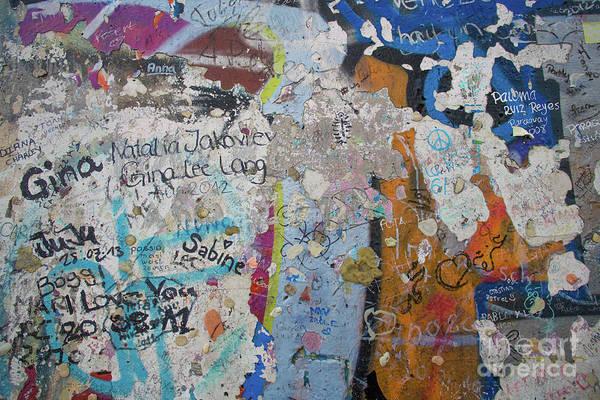 The Wall #10 Art Print