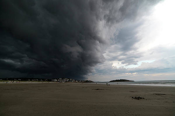 Photograph - The Wall Of The Storm Good Harbor Beach Gloucester Ma by Toby McGuire