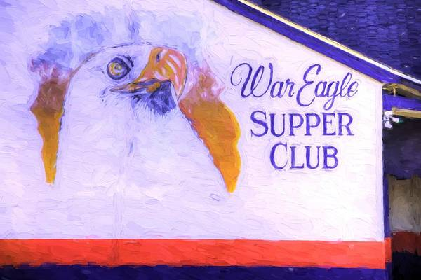 War Eagle Photograph - The War Eagle Supper Club by JC Findley