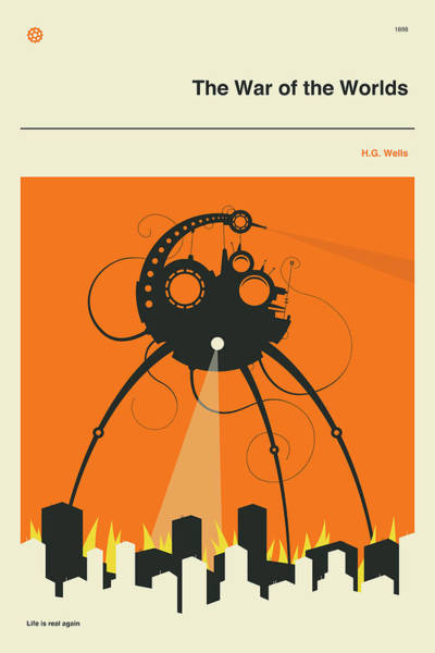 Or Wall Art - Digital Art - The War Of The Worlds by Jazzberry Blue