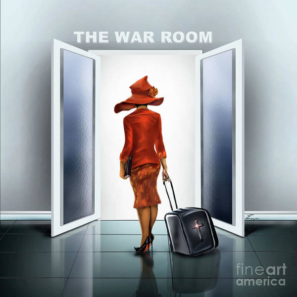Painting - The War Room by Reggie Duffie