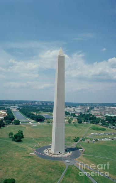 Commemorative Wall Art - Photograph - The Washington Monument by American School
