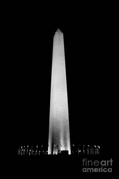 Photograph - The Washington Monument by E B Schmidt