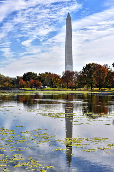 Wall Art - Photograph - The Washington Monument From Constitution Gardens by Brendan Reals