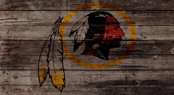 Atlanta Falcons Mixed Media - The Washington Redskins W1 by Brian Reaves