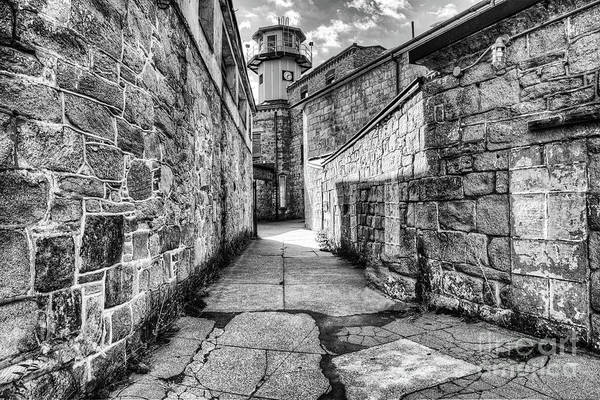 Photograph - The Watch Tower Eastern State Penitentiary by Anthony Sacco
