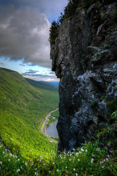 Franconia Notch Wall Art - Photograph - The Watcher by Chris Whiton