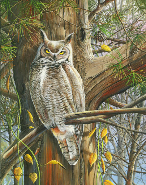 Painting - The Watchman by Mike Brown