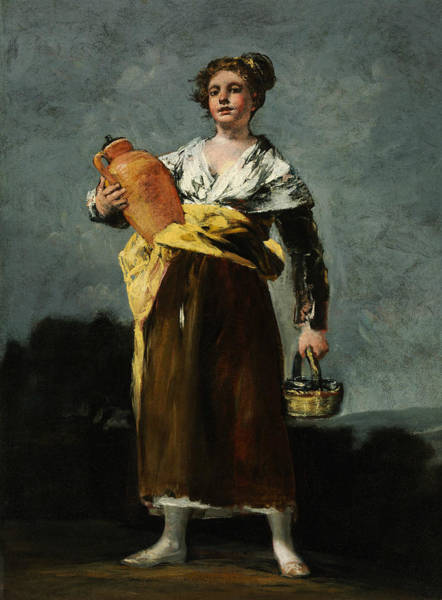 Painting - The Water Carrier  by Francisco Goya
