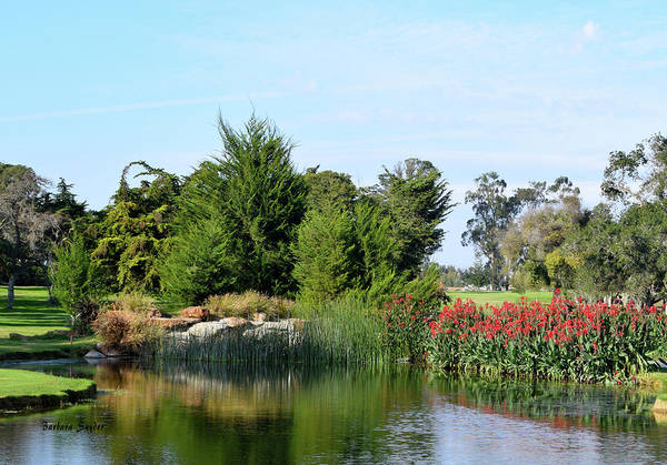 Photograph - The Water On Number One Santa Maria Country Club by Barbara Snyder