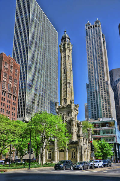Photograph - The Water Tower - Chicago by Allen Beatty