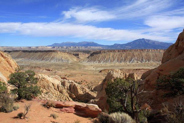 Photograph - The Waterpocket Fold, Utah by Aidan Moran