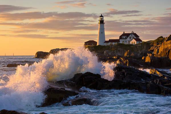 Cape Elizabeth Photograph - The Wave by Benjamin Williamson