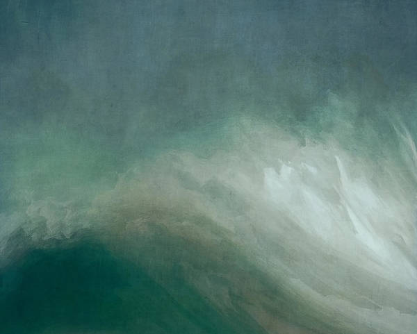 Stormy Digital Art - The Wave by Lonnie Christopher