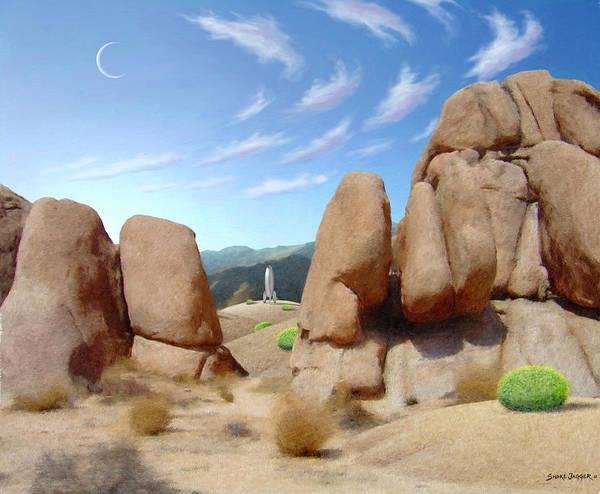 Desert Southwest Digital Art - The Way Home by Snake Jagger