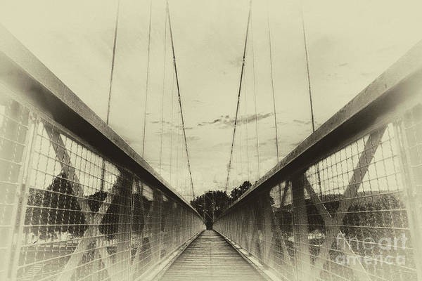 Photograph - The Way Over The Bridge by Eva-Maria Di Bella