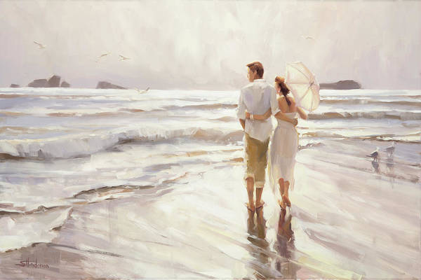 Oregon Coast Wall Art - Painting - The Way That It Should Be by Steve Henderson