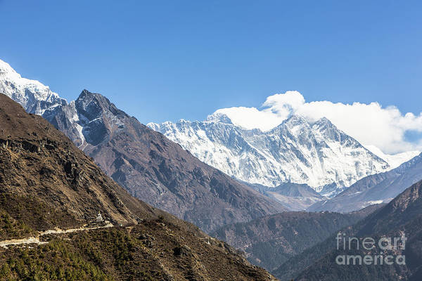 Photograph - The Way To Mt Everest by Didier Marti