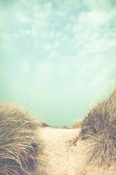 Whimsical Photograph - The Way To The Beach by Maria Heyens