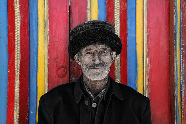 Chinese Photograph - The Way We Live With Color by Bj Yang