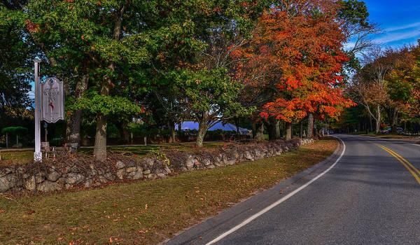 Wayside Photograph - The Wayside Inn Road by Jim Archer