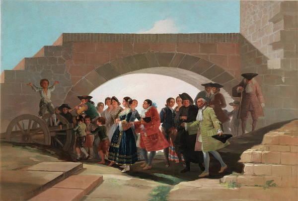 Bridesmaids Painting - The Wedding by Francisco de Goya