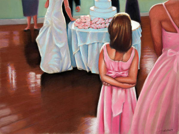 Bridesmaids Painting - The Wedding Planner by Christopher Reid