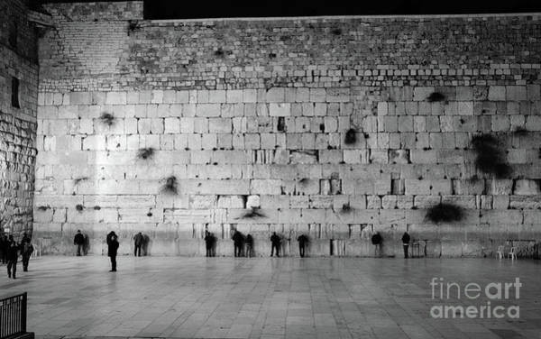 Art Print featuring the photograph The Western Wall, Jerusalem 2 by Perry Rodriguez