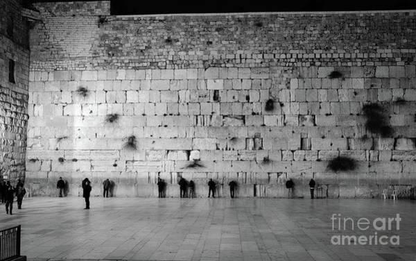 The Western Wall, Jerusalem 2 Art Print