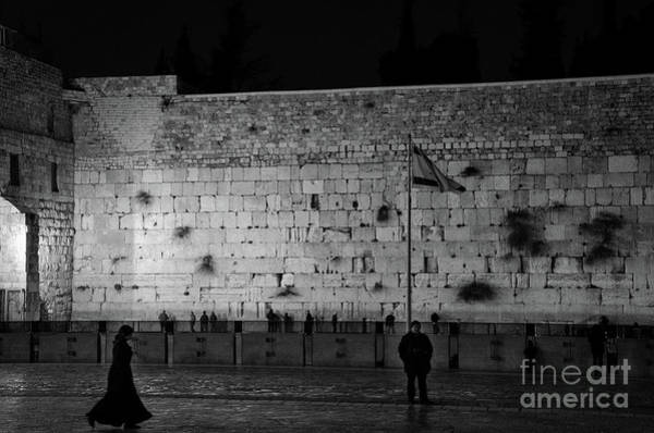 Art Print featuring the photograph The Western Wall, Jerusalem by Perry Rodriguez