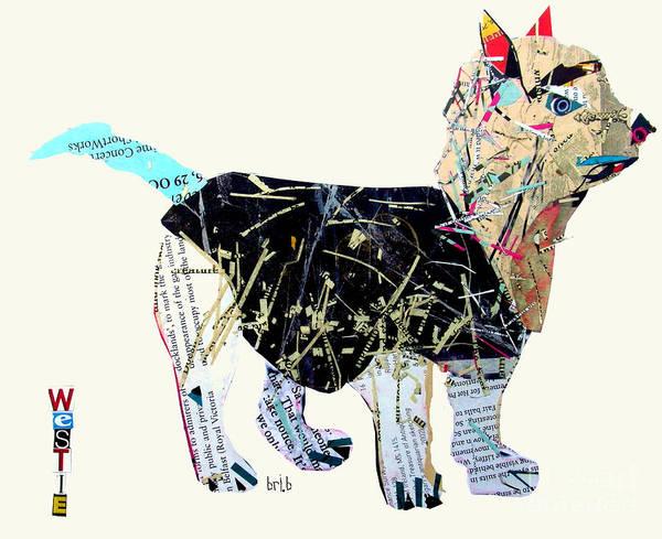 Terrier Painting - The Westie by Bri Buckley