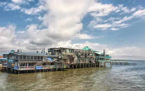 Cedar Key Photograph - The Wharf At Cedar Key by John M Bailey