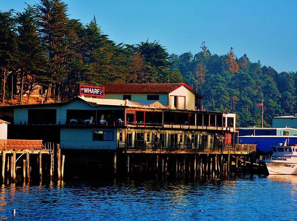 Fort Bragg Photograph - The Wharf by Helen Carson