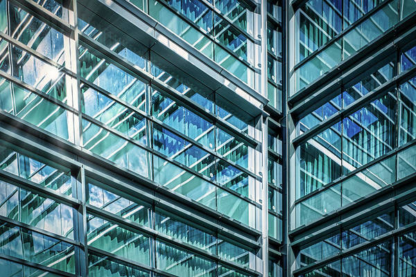 Photograph - The Wharf Window Reflections - Washington by Stuart Litoff