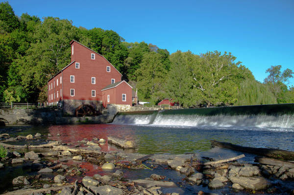 Photograph - The Wheel Mill At Clinton New Jersey by Bill Cannon