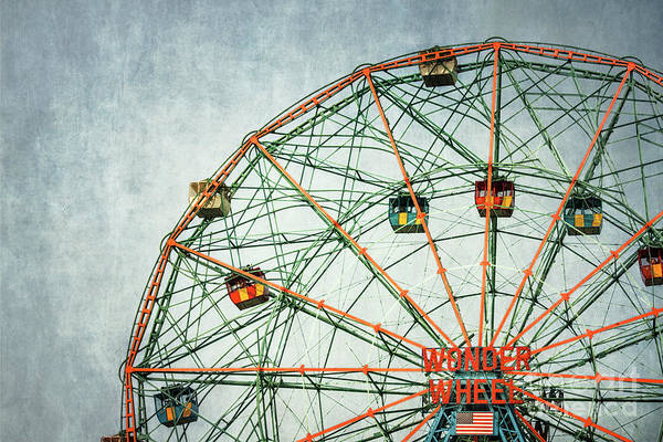 Carousels Photograph - The Wheel Of Time by Evelina Kremsdorf