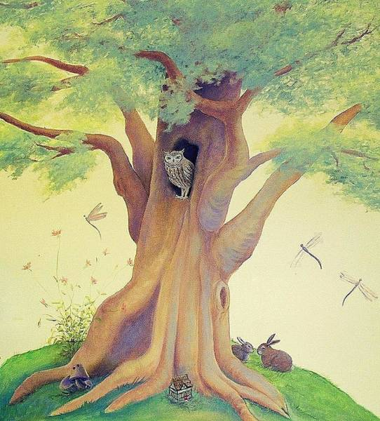 Painting - The Whistling Tree by Suzn Smith