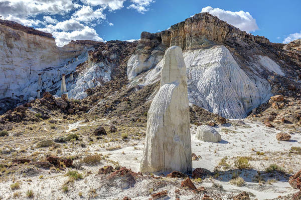 Photograph - The White Ghost Of The Wahweap Wash by Pierre Leclerc Photography