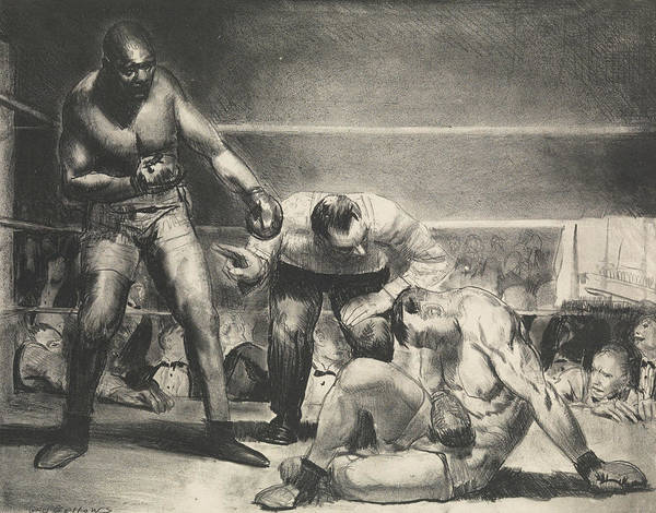 Relief - The White Hope by George Bellows