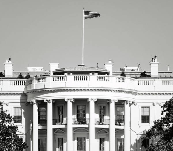Photograph - The White House In Washington Dc by Brandon Bourdages