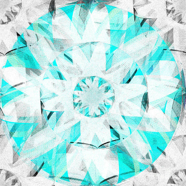 Frozen Tundra Digital Art - The White Lotus by Andrew Kaupe