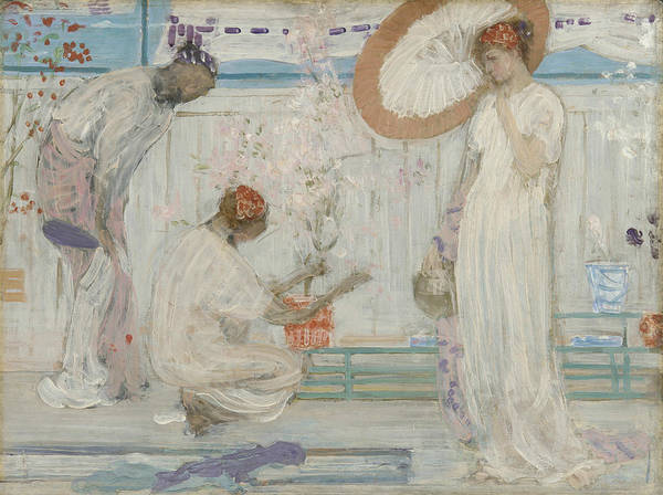 Painting - The White Symphony Three Girls by James Abbott McNeill Whistler