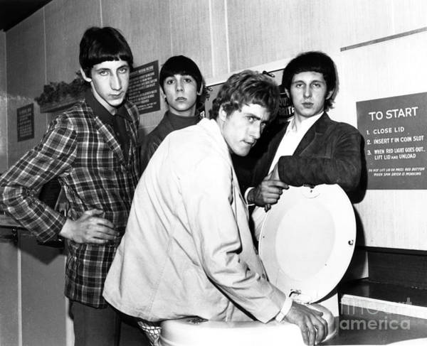 Chris Walter Wall Art - Photograph - The Who 1966 by Chris Walter