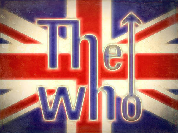 Wall Art - Mixed Media - The Who Grunge Poster by Dan Sproul