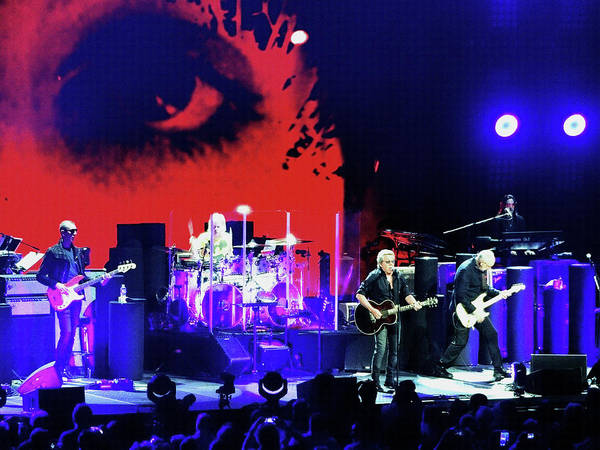 Photograph - The Who In Moda Center  by Tanya Filichkin